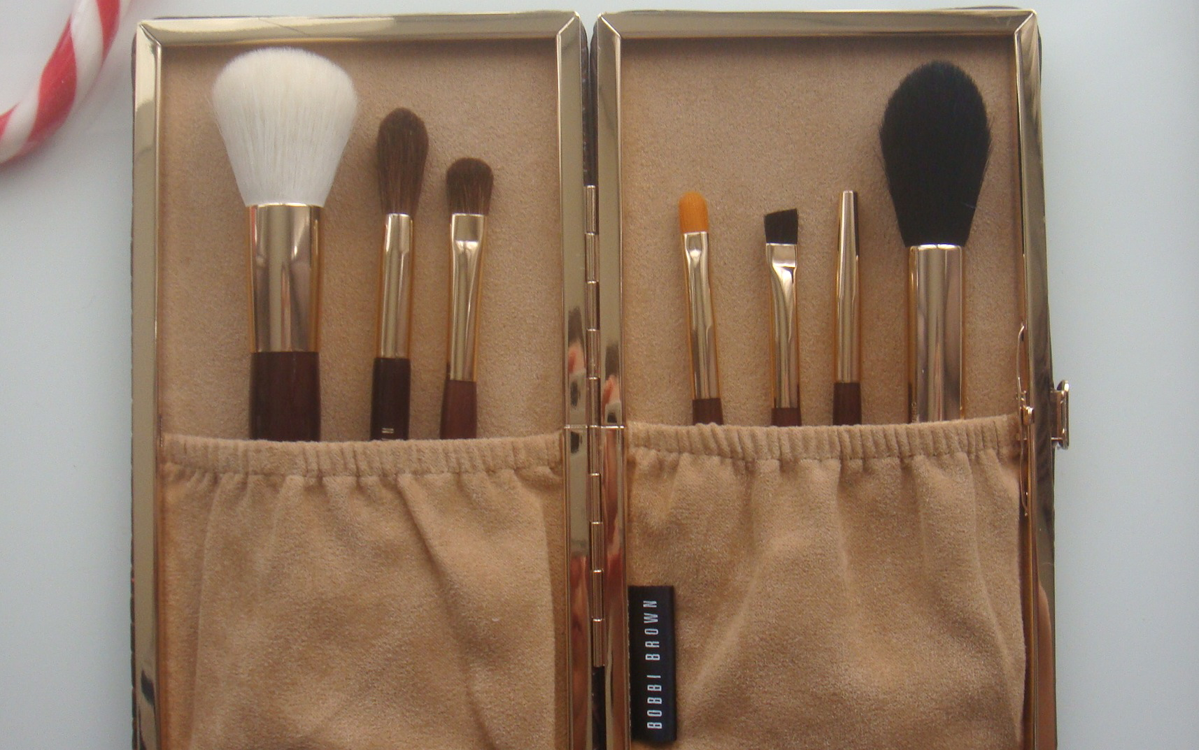 bobbi brown brushes price. love the modern feel of faux croc mixed with beige compartment interior! very chic \u0026 spacious, it will fit more than brushes available bobbi brown price