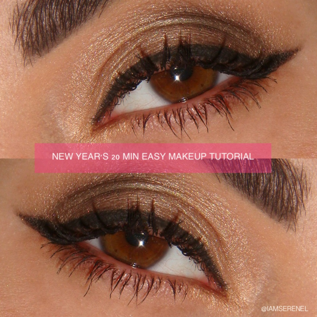 New Year S Eve Howto 20 Min Easy Makeup Tutorial